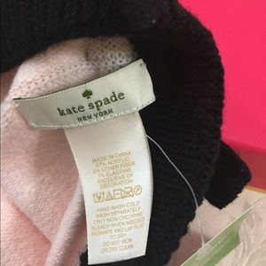 kate spade Accessories - 🆕 Kate Spade Bow Beret Hat 👩‍🎨 Very Cute!